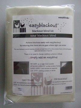 Easyblackout Kit de panneau occultant – Mini (70 x 130 cm) Blanc