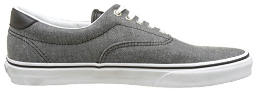 Vans Ua Era 59, Sneakers Basses Homme Gris (C And L Chambray/black)