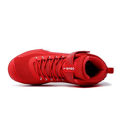 Scarpe Basket Sportive Da Uomo Bianco Onemix 2017 Rosso Scarpe qUqOt