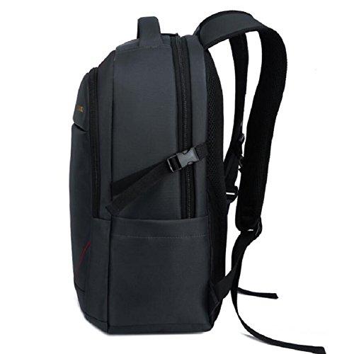LJ&L Männer und Frauen allgemeine Rucksack, Computer-Tasche, Freizeit Outdoor-Reise Bergsteigen, Studenten Taschen, Nylon wasserdichte Rucksack B