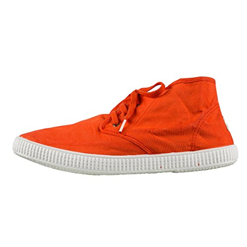 Victoria - Safari Lona Tintada, Chaussures À Lacets Unisexes - Adulte Orange (orange)