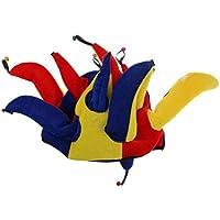Cikuso Tappo dello Sciocco Narrenmuetze arlecchino Cappello imbrogliare  muetze Berretto Carnevale 2383167fd4b1