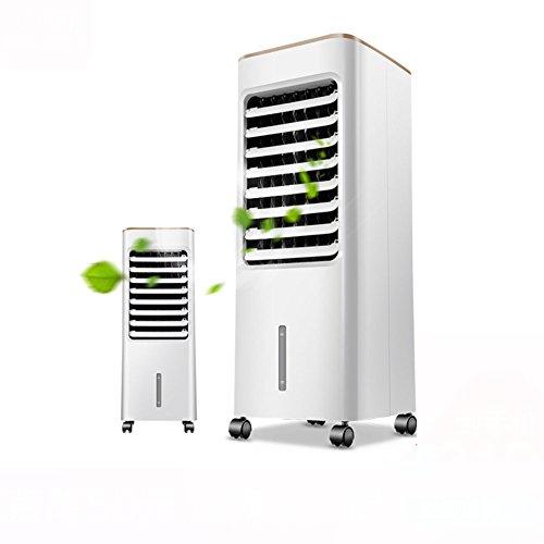 SL&LFJ 28-Zoll-Portable Air Conditioner Fan,Kleine Desktop-Fan persönlichen Tisch Ventilator Mini Evaporative Kühler Kühlung smist luftbefeuchter Spray Ventilator-Weiß 26.5x28x70cm(10x11x28inch) Air Conditioner Fan Motor