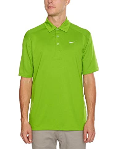 Nike Sphere Dry-Men's Polo Vert/blanc xx-large