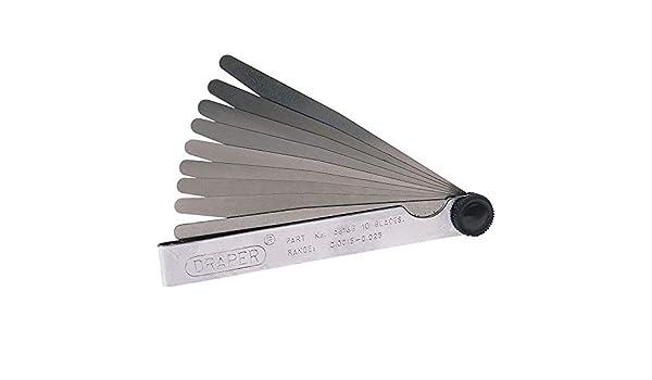 silber 1,0/mm 20/Klingen Geko g02739/F/ühlerlehre 0,05