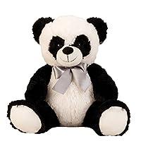 Lifestyle & More Sweet Panda bear Cuddly bear 50 cm Plush bear Cuddly toy Panda velvety soft - for loving