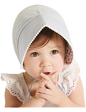 Sumolux Sombrero Gorra Princesa de Solar para Bebé Niña Pequeña de Pesca de Encaje de Algodón Contra sol Anti UV