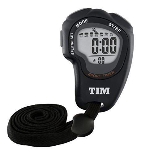 Tim olimpus TIM902B Cronómetro deportivo LCD, temporizador, para ejer