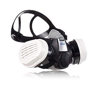 Dräger X-plore® 3300 Maler Halbmasken-Set inkl. A2P3 Kombi-Filter | Gr. S/M/L | gegen Gase, Dämpfe, Fein-Staub/Partikel