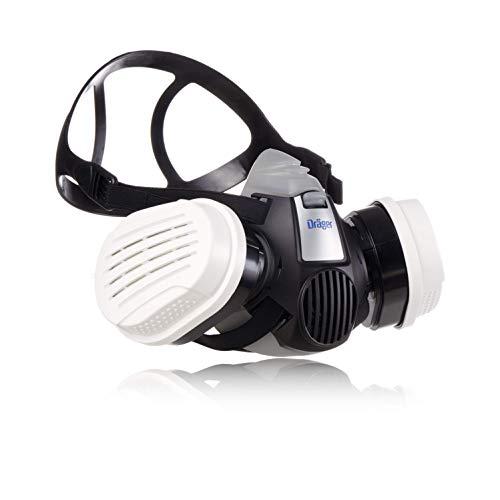 Dräger X-plore® 3300 Maler Halbmasken-Set inkl. A2P3 Kombi-Filter | Größen S/M/L | gegen Gase, Dämpfe, Fein-Staub/Partikel | Gr. M