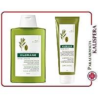Klorane Kit de viaje anti eta al Extracto de Olivo 1 Shampoo 100 + 1