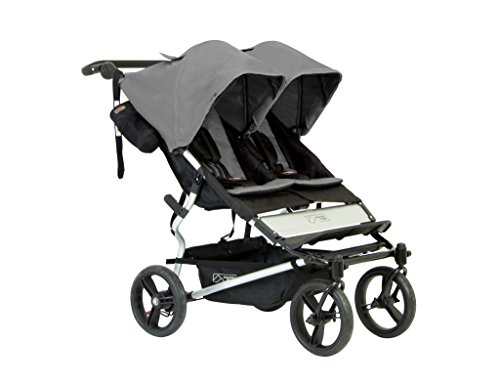 Mountain Buggy Evolution Duet Flint inkl. Regenschutz