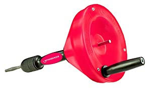 tuberias lentas: ROTHENBERGER 72095 - Desatascador manual plus espiral 8 mmx7,5 m
