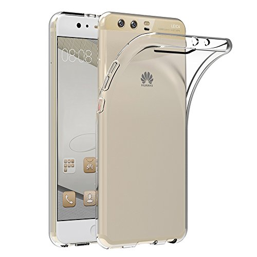 Cover Huawei P10 Plus, AICEK Cover Huawei P10 Plus (5.5 Pollici) Silicone Case Molle di TPU Trasparente Sottile Custodia per Huawei P10 Plus