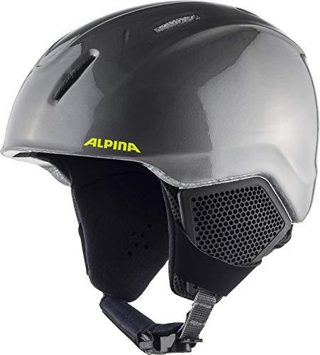 Alpina Casque de Ski et de Snowboard Carat LX pour garçon 51-55 cm