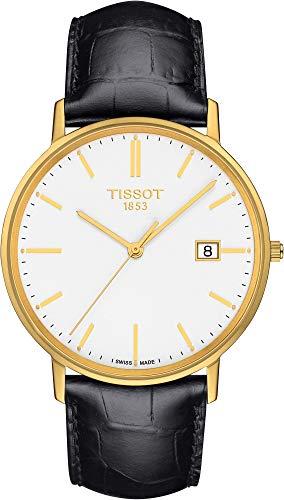Tissot GOLDRUN 18KT Gold T922.410.16.011.00 Reloj de Pulsera para Hombres