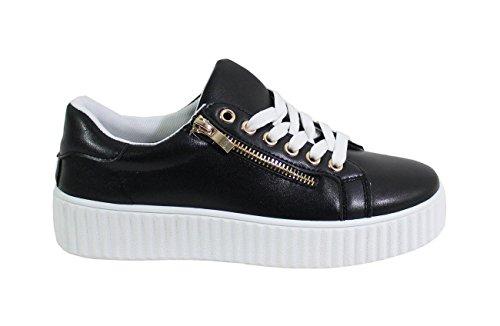 Dalle Scarpe - Damen Sneakers Schwarz