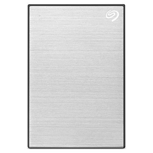 Seagate Backup Plus Portable 5 TB externe tragbare Festplatten für PC und Mac (6,35 cm (2,5 Zoll)) silber (Ssd Externe 5tb)