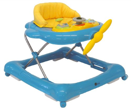 United Kids 902001 Baby Walker Flieger mit Musik, blau