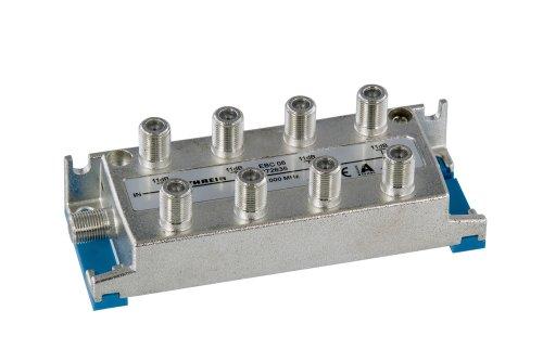 Kathrein EBC 08 8-fach-Verteiler (F-Anschluss, 5-1000 MHz, Rückweg- und UHF-tauglich)