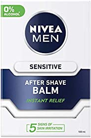 NIVEA MEN Sensitive After Shave Balm, Chamomile & Hamamelis, 1