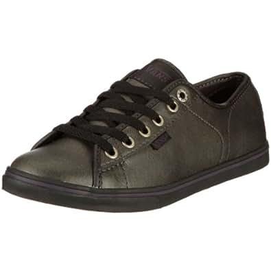 Vans W FERRIS LO PRO VJW0L3B, Damen, Halbschuhe, Schwarz ((Leather)Blk/Bl Misaky Leather/Knit-U), EU 36.5