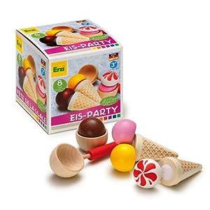 Erzi 28157 Juego de rol - Juegos de rol (Cocina y Comida, Estuche de Juego, 3 año(s), Niño, Niño/niña, Multicolor)