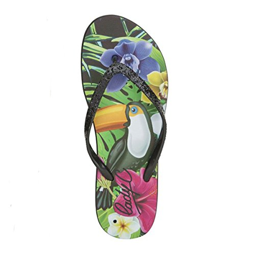 COOL SHOE Tongs roly Tropical 2 W Multicolore