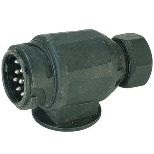 Cartrend-80112-Stecker-13-polig-6-12-Volt-ISO-11446-DIN-V-72570-T1