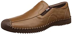 Arrow Mens Tan Leather Loafers and Moccasins - 9 UK/India (43 EU)