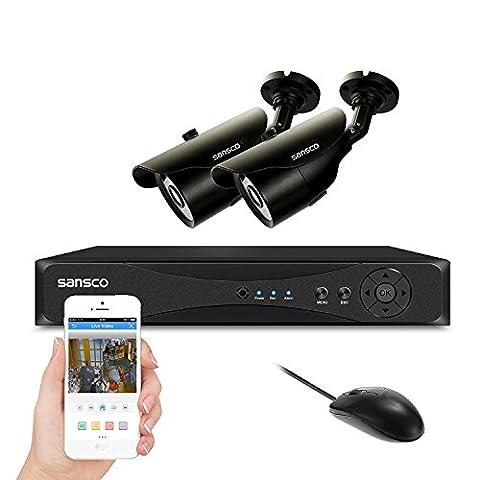 [TRUE 960p HD] SMART CCTV System, SANSCO 1080N DVR Recorder