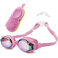 GIVBRO Swimming Goggles-Kids Goggles with Anti-Fog, Waterproof, UV Protection, No Leaking Swim Goggles