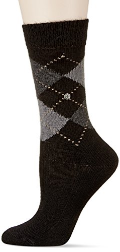 Burlington Damen Socken Whitby, Gr. 36/41,schwarz (black 3000)