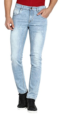 Abof Men's Slim Fit Jeans (ABOFS16AMCWJS108970136, Blue, 36)  available at amazon for Rs.477