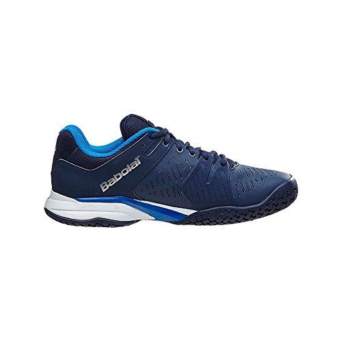 Babolat Sapato Propulse Argila Equipe Azul Escuro Homens Tênis De vnv6Srx