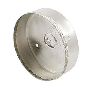 Sega a tazza diametro 100mm punta trapano diamantata per - Sega per piastrelle ...