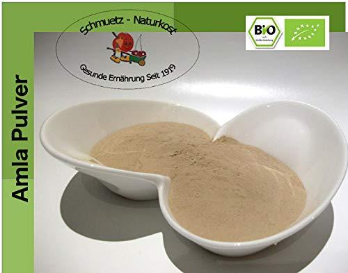 Bio Amalaki Pulver (Emblica officinalis) - reines Fruchtpulver 500g von Schmütz-Naturkost, Bio Superfood
