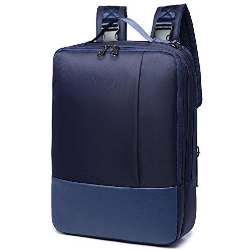 Pinkpum Business Laptop Rucksack Herren und Damen Backpack für Büro Dienstreise wasserdicht 20 Liter Sportrucksack Reiserucksack Blau -