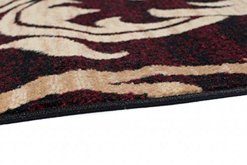 Tapiso tappeto passatoia per corridoio moderno fine colore beige
