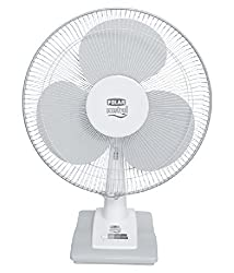 Polar (400mm) Mistral Electric Osc. Table Fan - FT40C1 White - Grey