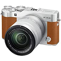 "Fujifilm 16545911 Fujifilm X-A3 Camel - Cámara Evil de 24 MP (Pantalla táctil de 3"", Obturador electrónico, Video Full HD, WiFi) - Kit Cuerpo con Objetivo XC 16-50 mm Camel"