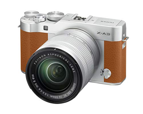 Fujifilm X-A3 Camel - Cámara Evil de 24 MP (Pantalla táctil de 3', Obturador electrónico, Video Full HD, WiFi) - Kit...