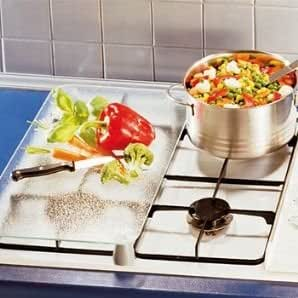 UNIVERSAL HEAT RESISTANT GLASS COOKER COVER