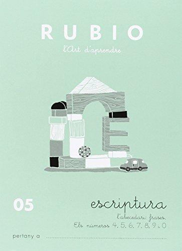 Rubio. Escritura 05