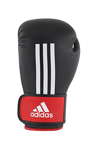 adidas Boxhandschuhe Energy 200, Schwarz/Weiß/Rot, 12, adiEBG200D