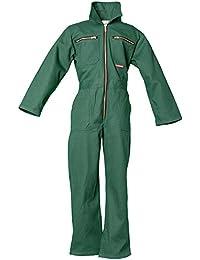 Planam KIDS - Mono de trabajo para niños verde verde Talla:86/92