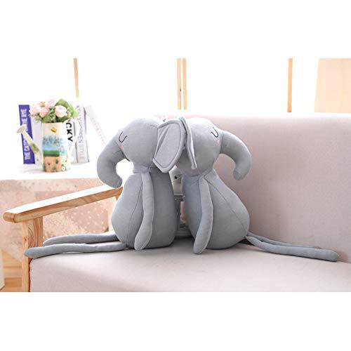 Outtybrave Lindo Conejo Elefante de Peluche con Patas largas, Conejos Blancos, Elefantes...
