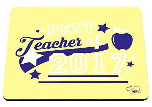 Teacher 2017Bedruckte Mauspad Zubehör Schwarz Gummi Boden 240mm x 190mm x 60mm, Purple and Teal, Einheitsgröße (Dress-up-themen Für Erwachsene)