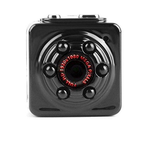 Mini Hidden Spy Camera, SQ9 Mini DV 1080P Full HD H.264 12.0MP CMOS Dash Camera Motion Detection Video Camera Support TF Card Spy Camera Motion Detector