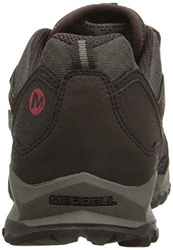 Merrell Capra Bolt Low A/C Waterproof, Chaussures de Randonnée Basses Garçon Multicolore (Brown)